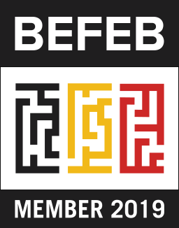 Befebbadge 2019 256white